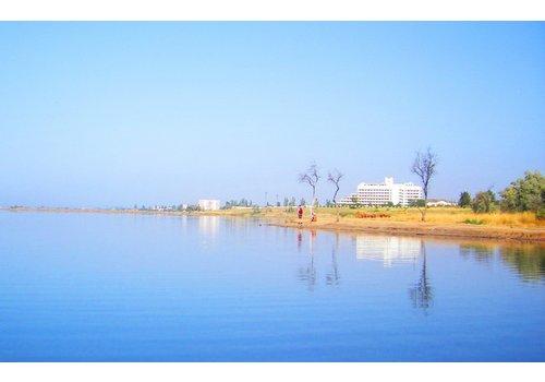 грязь сакского озера